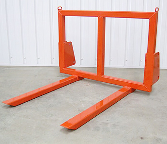 Tractor mounted Pallet Forks